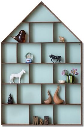 The Dorm Shelf from Ferm Living by Trine Andersen eclectic wall shelves