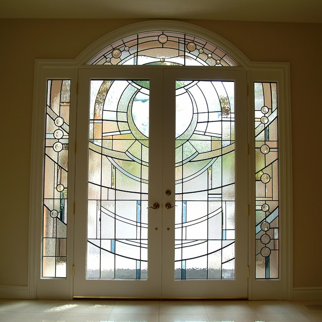 Art-Glass Entry contemporary windows