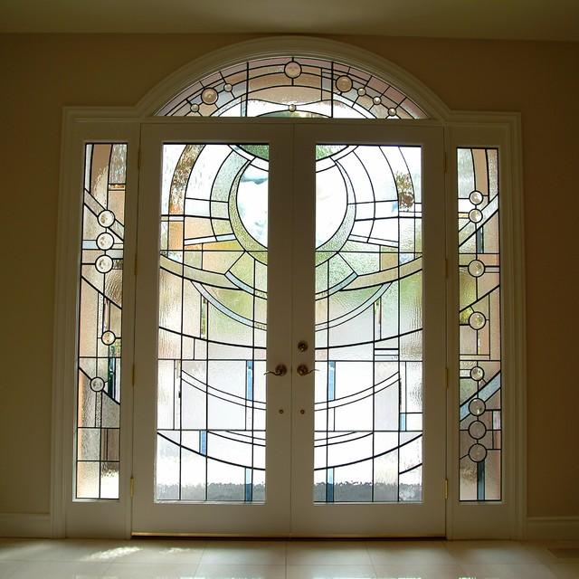 Art-Glass Entry contemporary-windows