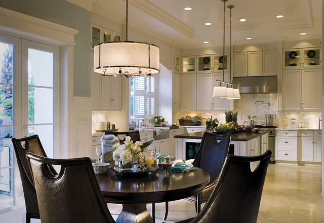 CLASSIC WHITE KITCHEN transitional-kitchen