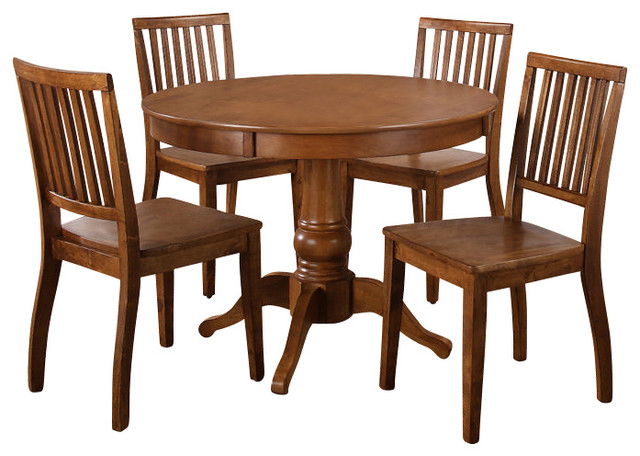 steve silver candice 6 piece 42 inch round dining room set