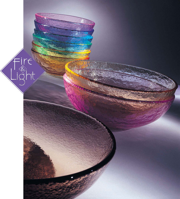 Fire and Light - Dinner Collection contemporary-dining-bowls
