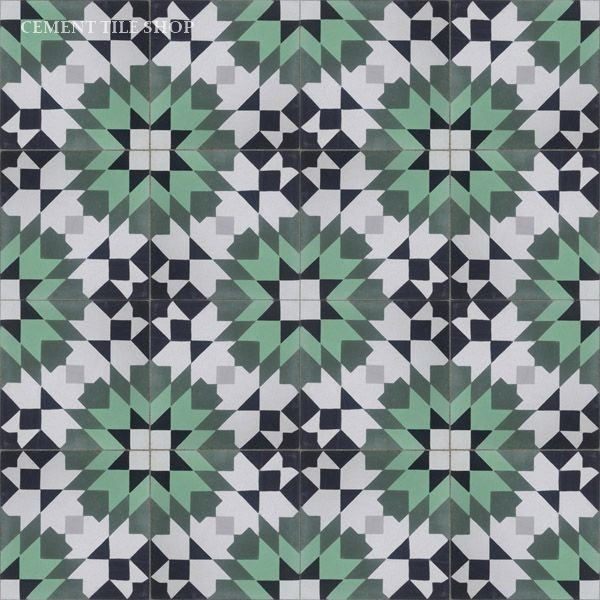 Moroccan collection mediterranean wall and floor tile Moroccan ceramic floor tile