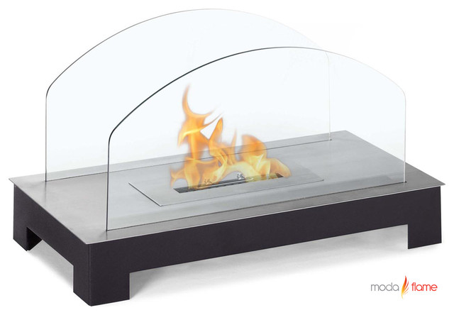 Rota Table Top Bio-ethanol Fireplace by Moda Flame modern-indoor-fireplaces