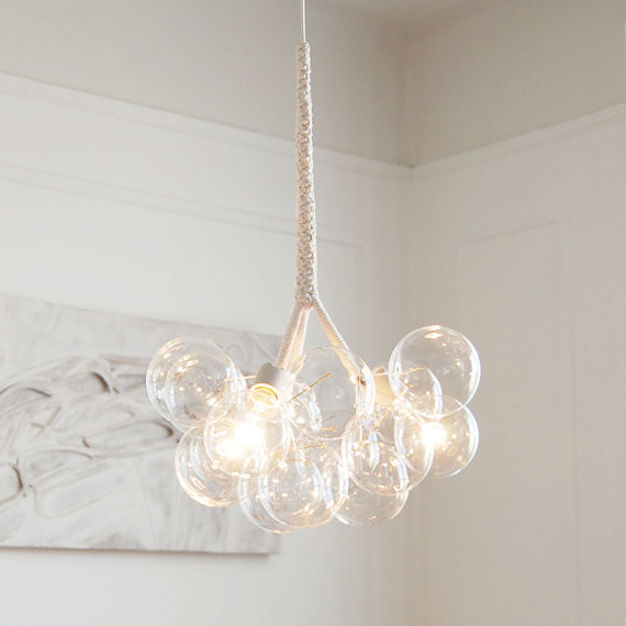The Original Medium Bubble Chandelier by PELLE contemporary chandeliers