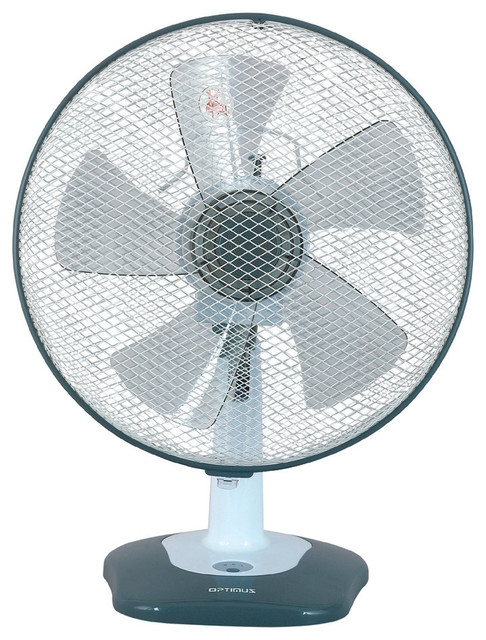 12 inch oscillating table fan contemporary electric