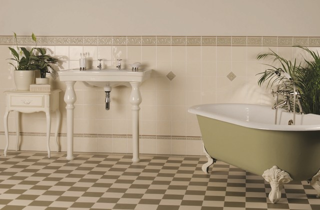 Victorian floor tiles traditional wall floor tiles for Traditional kitchen wall tiles