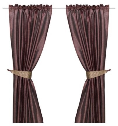 FELICIA Pair of curtains with tie-backs - Modern - Curtains - by IKEA