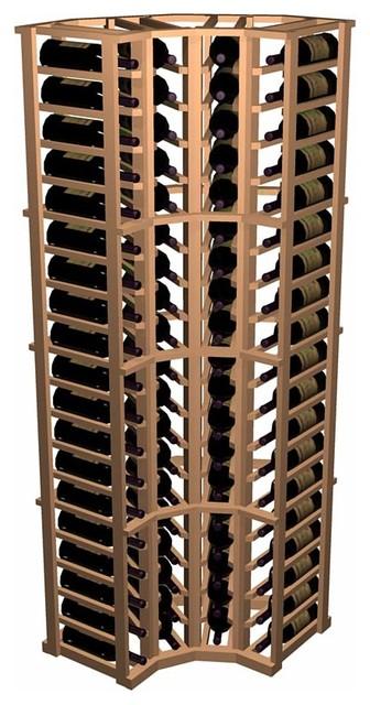 Designer Series Wine Rack - Curved Corner traditional-wine-racks