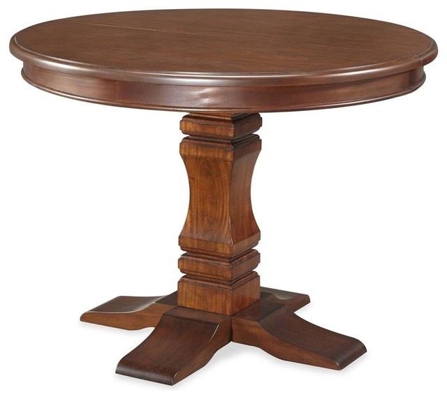 Dining Table With Pedestal Base Traditional Dining Tables