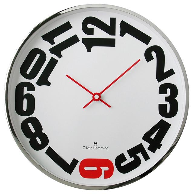Wall Clocks by Oliver Hemming contemporary-wall-clocks