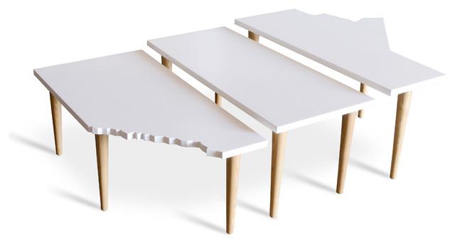 Gus Modern Prairie Tables - Set of Three modern-coffee-tables