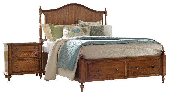 Broyhill hayden place panel storage bed 5 piece bedroom - Broyhill hayden place bedroom set ...