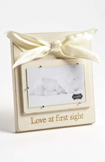 Mud Pie 'Love At First Sight' Wooden Picture Frame (3x5) traditional-picture-frames