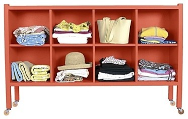Large Stow-Away Shelf traditional-storage-cabinets