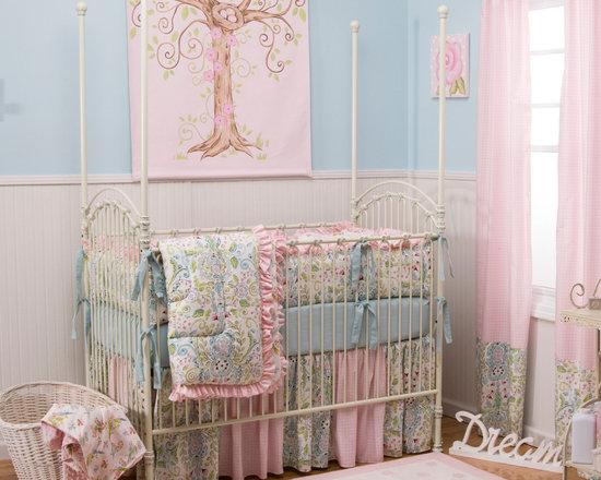 Love Birds Crib Bedding -