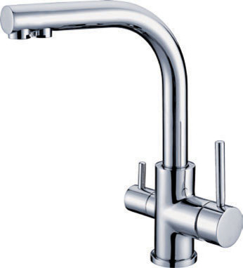 NEW** kitchen swival singal handle Faucet Chrome finish 1-1074 contemporary-kitchen-faucets