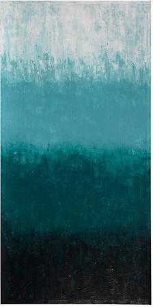 Aquamarine Ombre modern-artwork