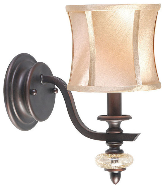 World Imports Chambord Collection Single Light Wall Sconce contemporary-wall-lighting