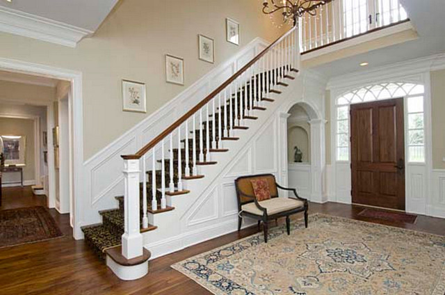 Fisher Lane Residence traditional-staircase