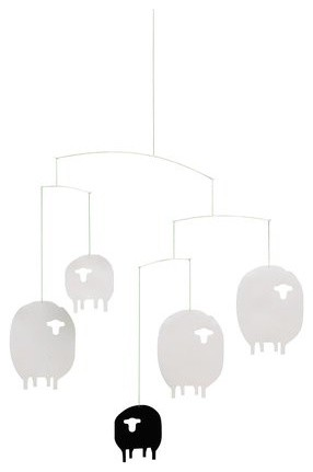 Flensted Sheep Mobile contemporary-baby-mobiles