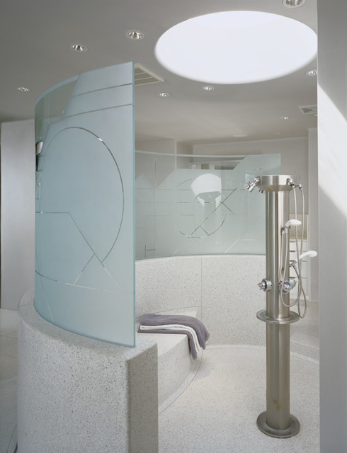 Custom Residence - Architecture contemporary bathroom