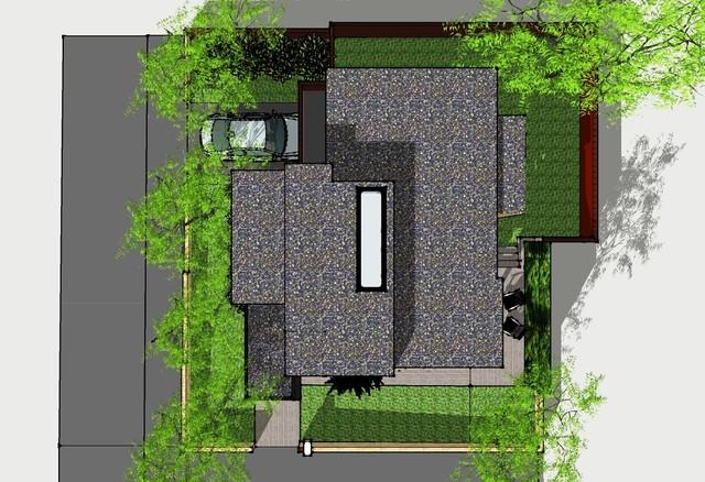 Small Contemporary House contemporary
