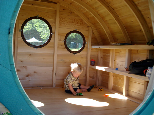 Woodshire hobbit hole playhouse prefab studios other for How to build a hobbit hole playhouse