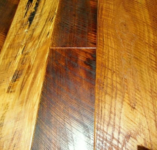 """Dino Blend"" -  An Antique Reclaimed Hardwood Flooring rustic"