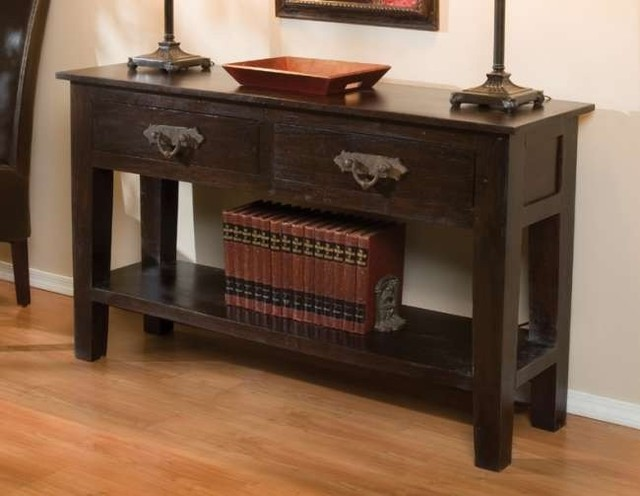 Classic Home Furniture Florence 2 Drawer Console Table