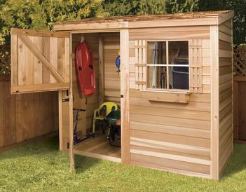 Cedarshed Bayside 8x4 Shed traditional-sheds