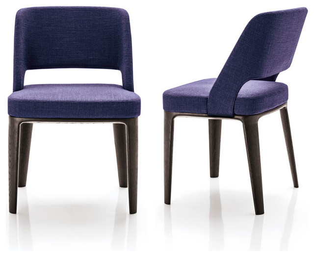 Minotti Owens Chair - Wood Base - Modern - Dining Chairs - by Switch ...