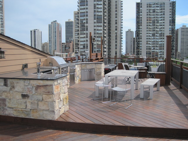 Chicago Roof Tops modern-patio