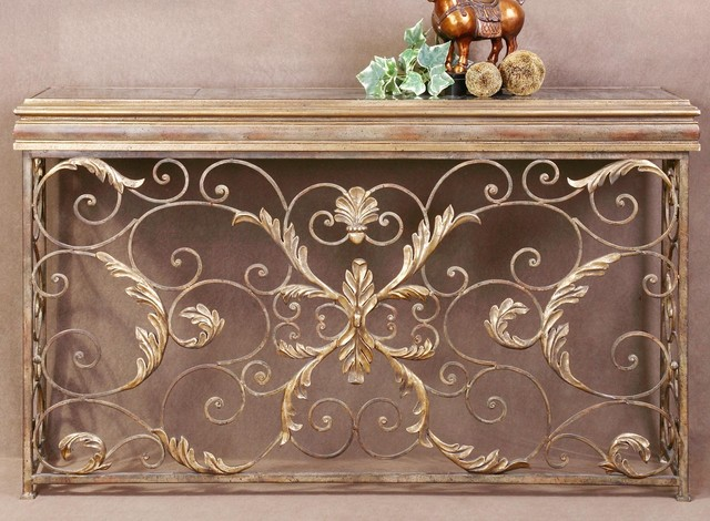 Venetian Console Table - traditional - side tables and accent ...