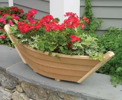 Dory Planter Traditional Outdoor Pots And Planters