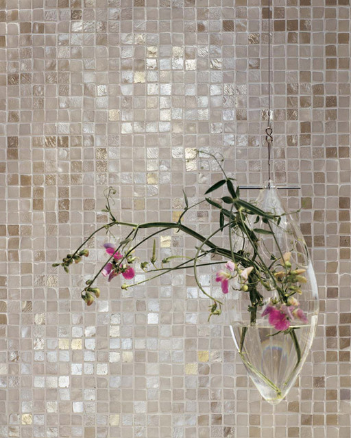Statements Tile - Melange Chiaro contemporary kitchen tile