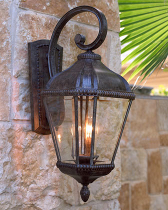 Portobello Lantern - traditional - outdoor lighting - by Horchow