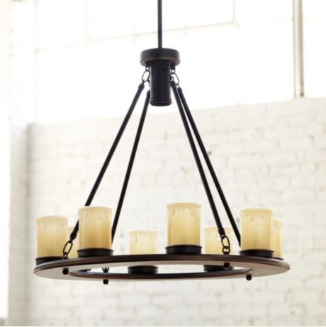 Carson Outdoor Chandelier Transitional Outdoor Hanging
