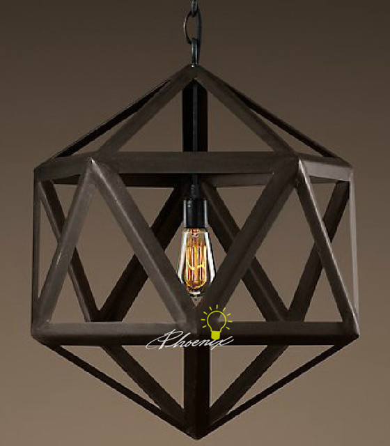Iron Art Chandelier contemporary-chandeliers