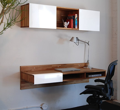 Lax Series Wall Mounted Desk by Mash Studios - No Longer available contemporary-desks-and-hutches