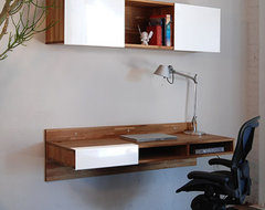 Lax Series Wall Mounted Desk by Mash Studios contemporary desks