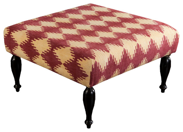 Surya Furniture- (FL-1015) contemporary-footstools-and-ottomans