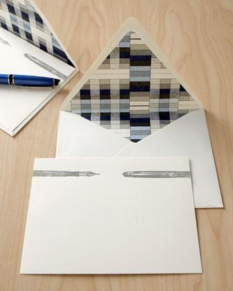 Bell'Invito Letterpress Pen Notecards traditional-desk-accessories