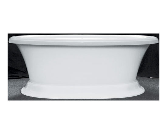 Elizabethan Classics  Serenity Air Bath - Love the graceful shape of this tub at a fairly reasonable price point. Great in a traditional setting.