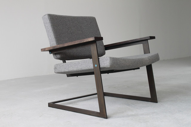 TOKEN Lounge Chair and Ottoman contemporary armchairs