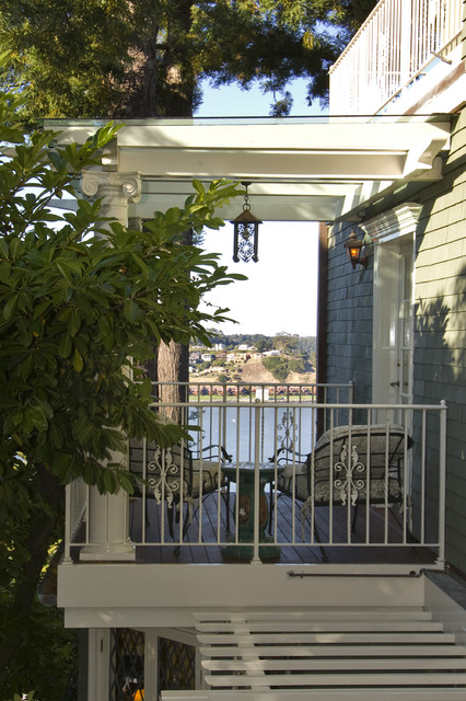 Belvedere CA Historic Renovation Marin County traditional porch