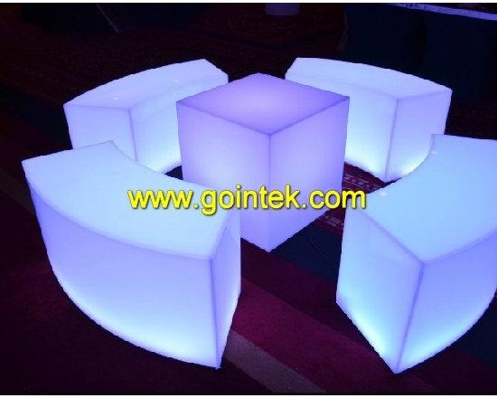 led bench furniture -