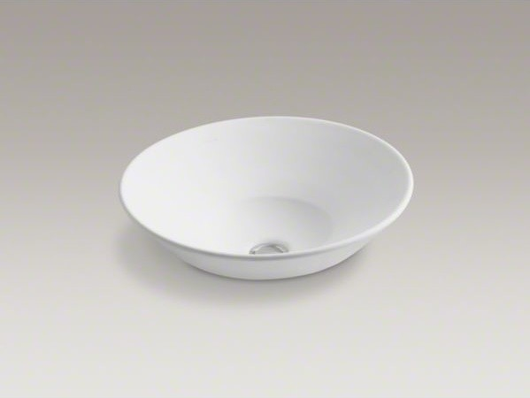 KOHLER Conical Bell(R) Vessel above-counter or wall-mount bathroom sink contemporary-bathroom-sinks