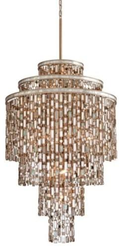 Dolcetti Chandelier by Corbett Lighting modern-chandeliers
