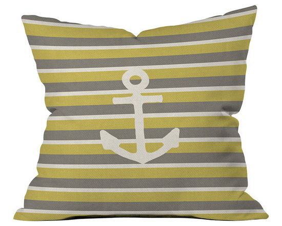 DENY Designs Bianca Green Anchor 2 Throw Pillows